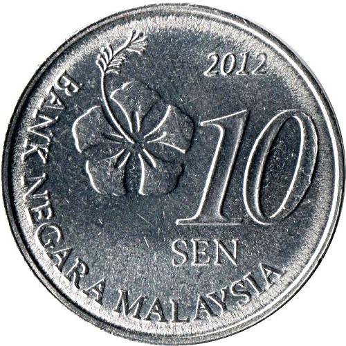 10 sen มาเลเซียเท่ากับกี่บาทไทย และนำไปแลกได้ที่ไหนบ้าง